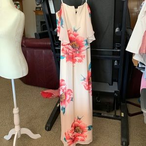 Strapless, cute flow dress